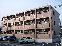 栃木県宇都宮市宮本町の賃貸マンションの外観