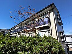 千葉県成田市郷部の賃貸アパートの外観