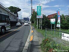 西側接道(平成29年7月中旬撮影)