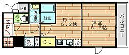 アクロス福島アーバンヒルズ[8階]の間取り