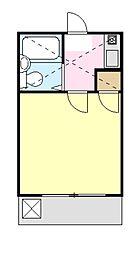TK大岡[1階]の間取り