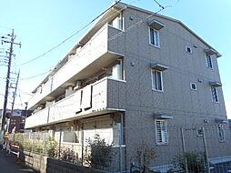 埼玉県川越市熊野町の賃貸アパートの外観