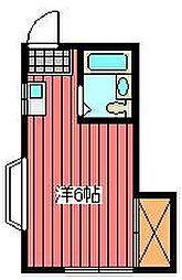 パークハイツMIKIE[2階]の間取り