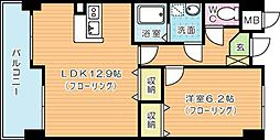 ジャミロ小倉[305号室]の間取り
