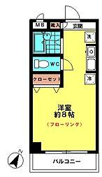 オーチャードマンション(1F)[1階]の間取り