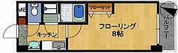 ホウレンハイツ森田[2階]の間取り