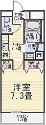 郁エスポワール[2階]の間取り