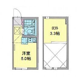 カパルアガーデン横浜反町[104号室号室]の間取り