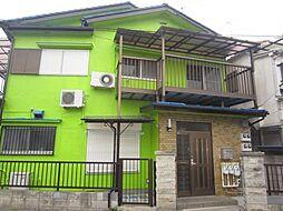 埼玉県新座市あたご3丁目の賃貸アパートの外観