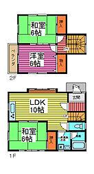 [一戸建] 埼玉県さいたま市南区大字円正寺 の賃貸【/】の間取り
