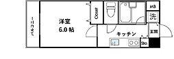 パレスデュディオ・ドルチェ日本橋EAST[803号室]の間取り
