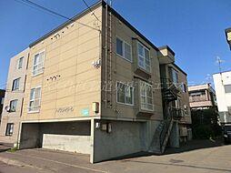 北海道札幌市東区北二十八条東19丁目の賃貸アパートの外観