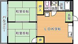 安永第一ビル[5階]の間取り