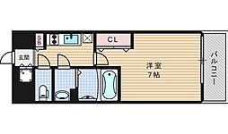 ファーストステージ江戸堀パークサイド[1202号室]の間取り