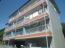 ビーンズフラット3[3階]の外観