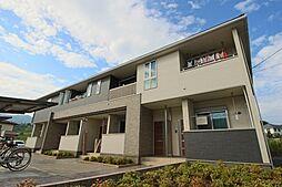 滋賀県大津市仰木の里3の賃貸アパートの外観