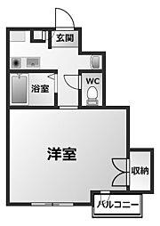 デュ・プレ[2階]の間取り