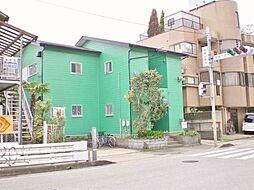 千葉県我孫子市高野山新田の賃貸アパートの外観