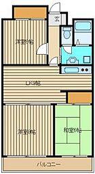 エルムヒルズNARUSAWA[4階]の間取り