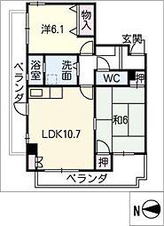 和光小幡マンション(304)[3階]の間取り