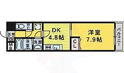 M's 1階1DKの間取り