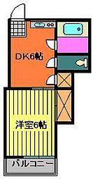 インペリアル幕張[2階]の間取り