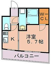サヴォイザフォースフォー[12階]の間取り