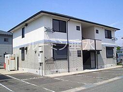 兵庫県加東市上滝野の賃貸アパートの外観