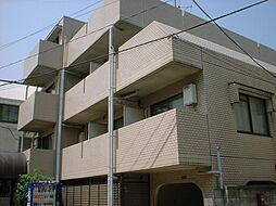 東京都新宿区中落合4丁目の賃貸マンションの外観