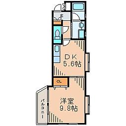 湘南ラハイナ[3階]の間取り