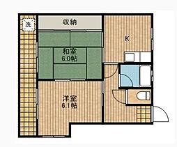 黒澤マンション[2階]の間取り
