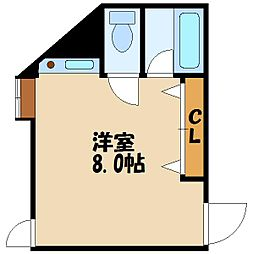コートハウス[2階]の間取り