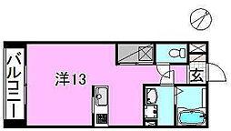 サクラガーデン[107 号室号室]の間取り