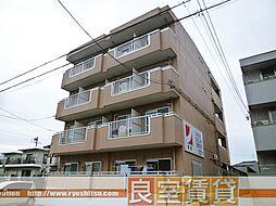 愛知県名古屋市瑞穂区直来町4丁目の賃貸マンションの外観