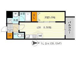 modern palazzo 江坂 AXIA 1[6階]の間取り