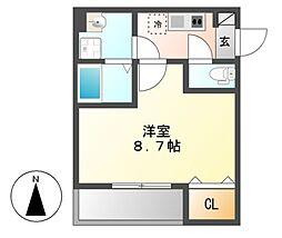 HARE千種(ハレ)[1階]の間取り