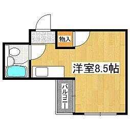 エクセル竹田[1階]の間取り