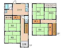 [一戸建] 和歌山県和歌山市向 の賃貸【和歌山県 / 和歌山市】の間取り