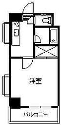 柳丸コーポ 北棟[610号室]の間取り