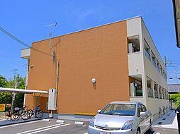 奈良県奈良市芝辻町2の賃貸アパートの外観