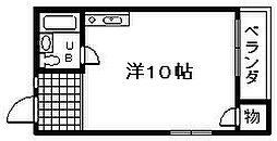 河畑ビル[203号室]の間取り