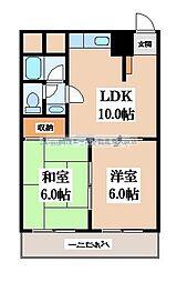 メゾン長田[8階]の間取り