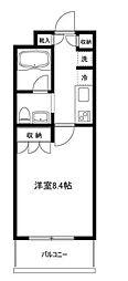 東京都世田谷区船橋5丁目の賃貸マンションの間取り