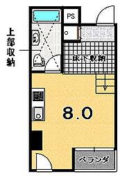 是空HORIKAWA[701号室]の間取り