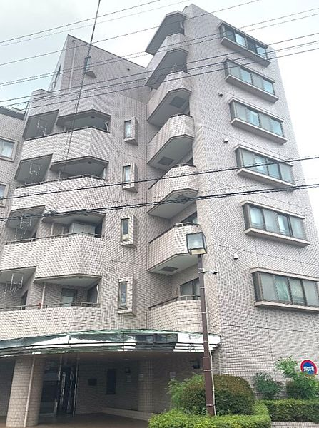 埼玉県入間市宮寺の賃貸マンションの外観