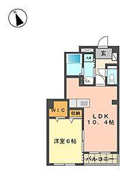 TownHouse安樹[1階]の間取り
