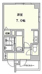サン福田ビル[2階]の間取り
