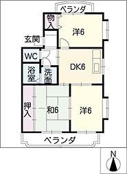 ア・ドリーム kawasaki[3階]の間取り