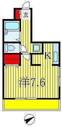 ESCUDO[2階]の間取り