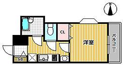 ステラハウス4 1000[2階]の間取り